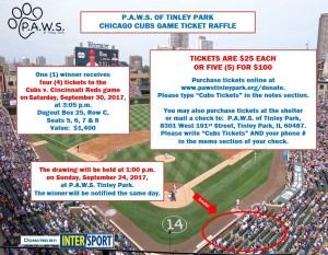 PAWS Cubs Tickets Raffle Flyer - Final